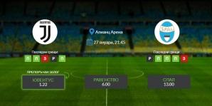 Прогноза: Ювентус - СПАЛ 27/01/2021 - Мач за Купата на Италия