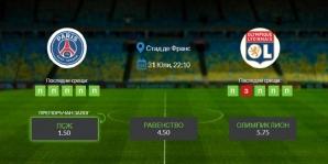 Прогноза: ПСЖ - Олимпил Лион 31/07/2020 - Купата на Лигата на Франция